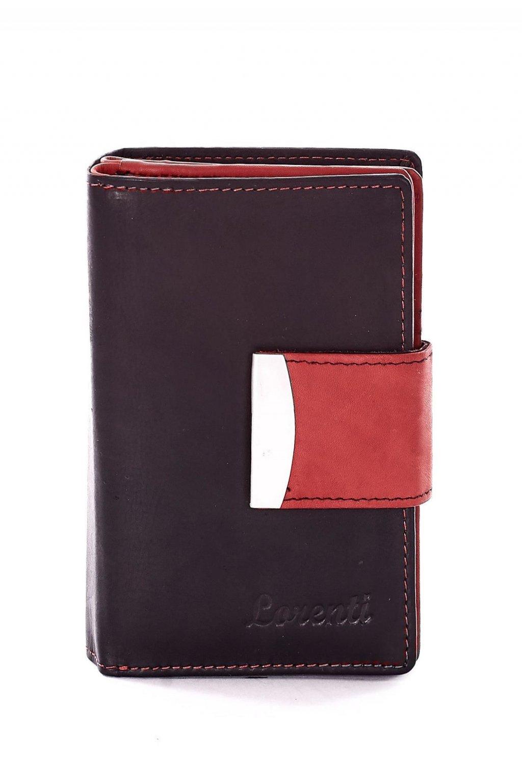 Červená dámska peňaženka