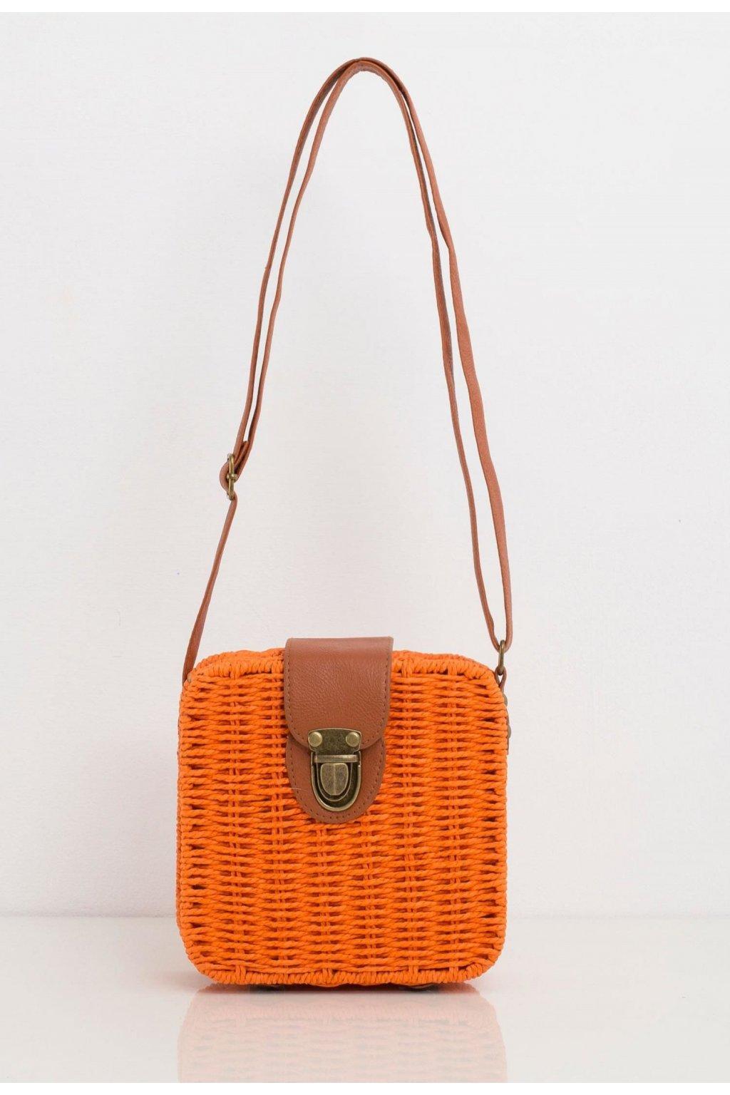 Oranžové dámske crossbody