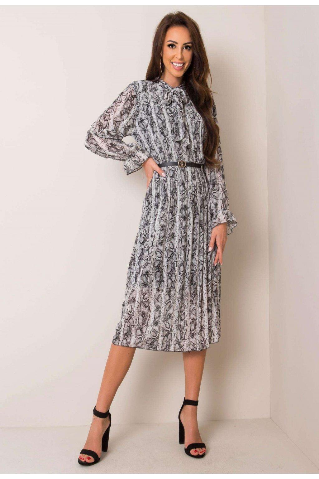 Čierno - biele dámske šaty