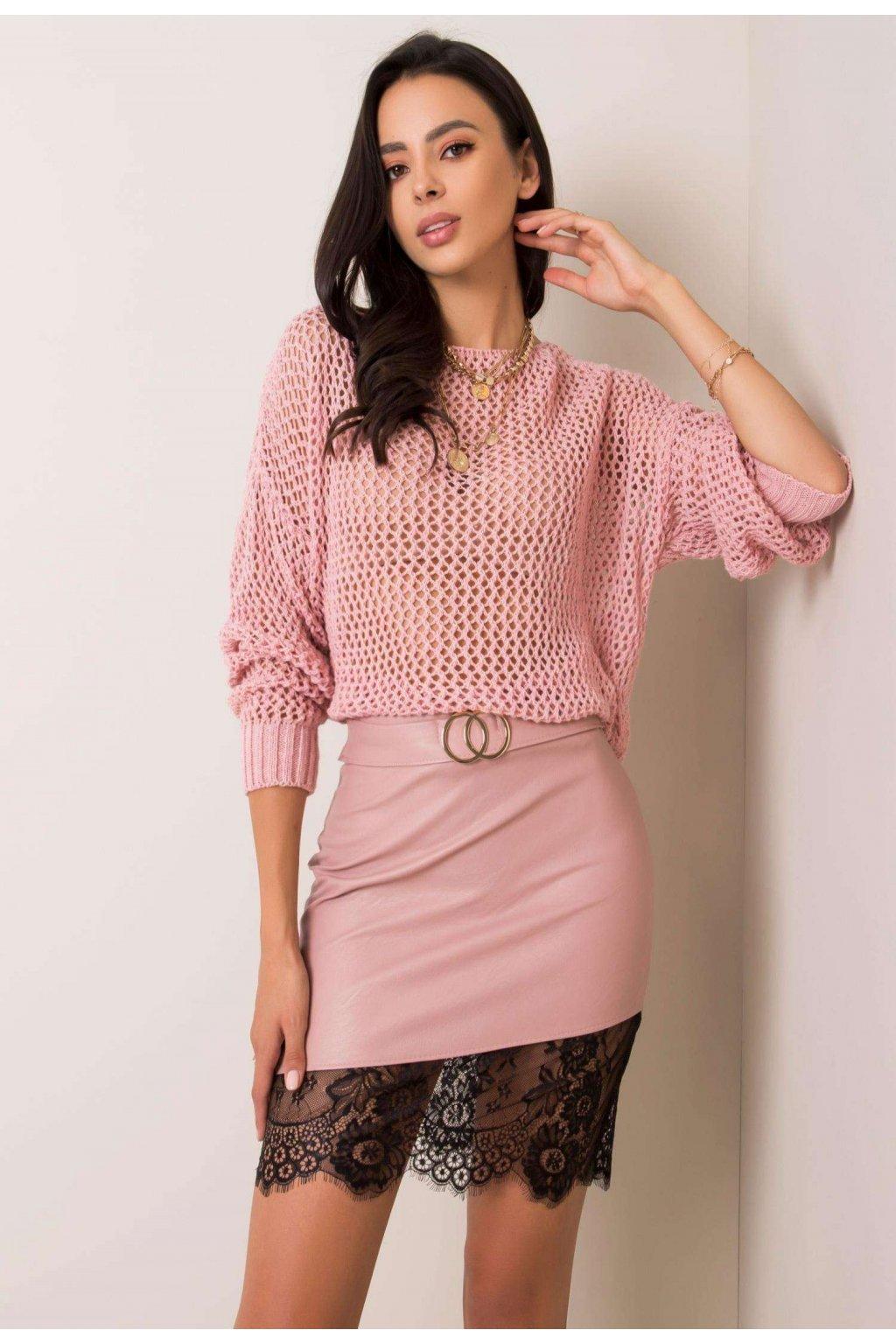 Ružová dámska sukňa