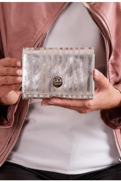 Strieborná dámska peňaženka