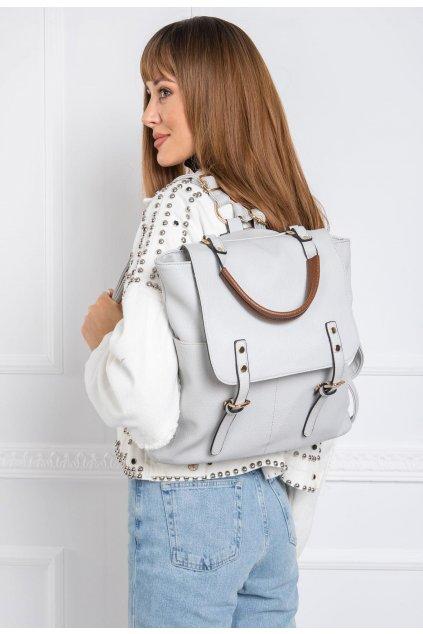 Šedý dámsky batoh