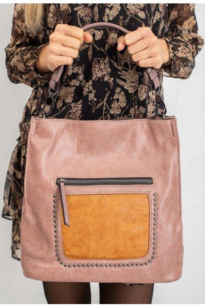 Ružová dámska kabelka