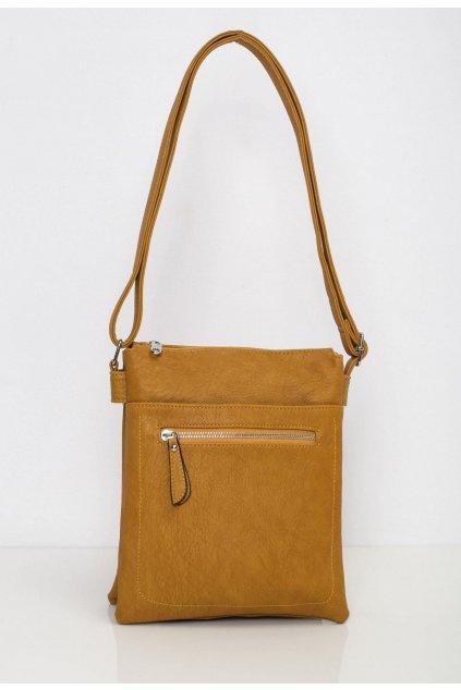 Žltá dámska kabelka