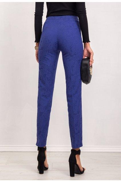 Kobaltové dámske nohavice