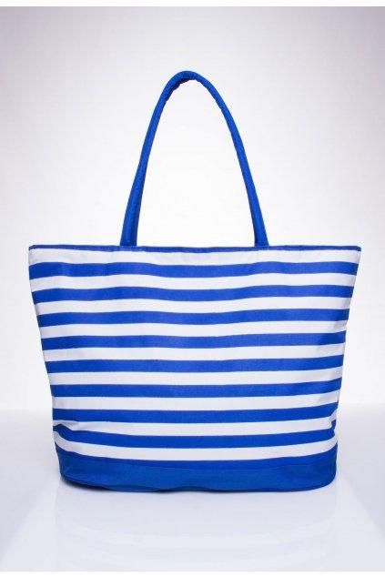 Modrá dámska plážová taška