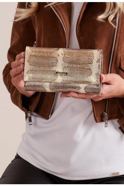 Zlatá dámska peňaženka