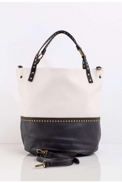Čierna dámska kabelka