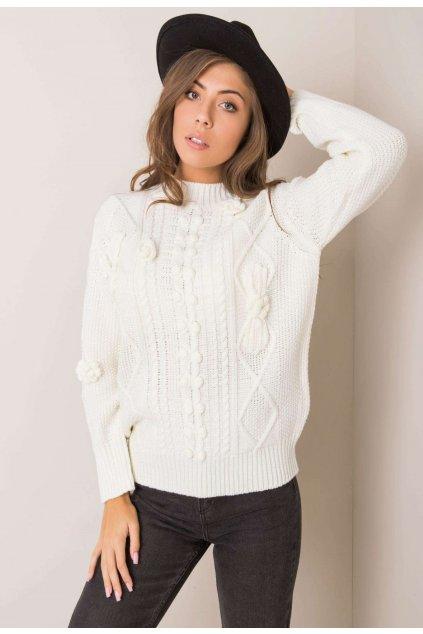 Biely dámsky sveter