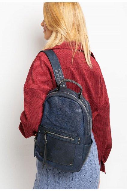 Modrý dámsky batoh