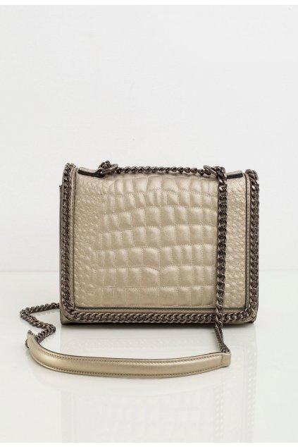 Zlatá dámska kabelka