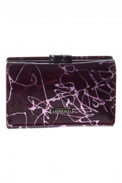 Fialová dámska peňaženka