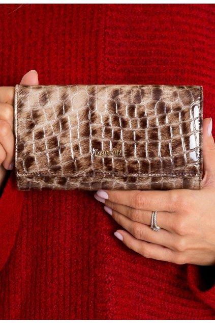 Hnedá dámska peňaženka