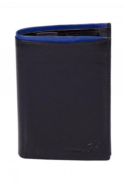 Čierno - modrá pánska peňaženka