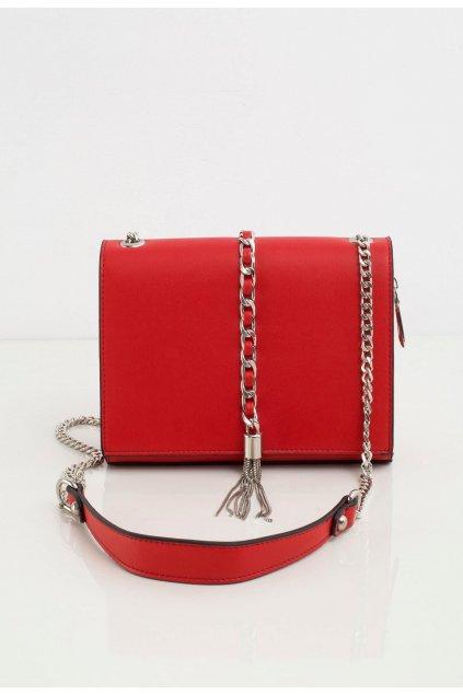 Červené dámske crossbody