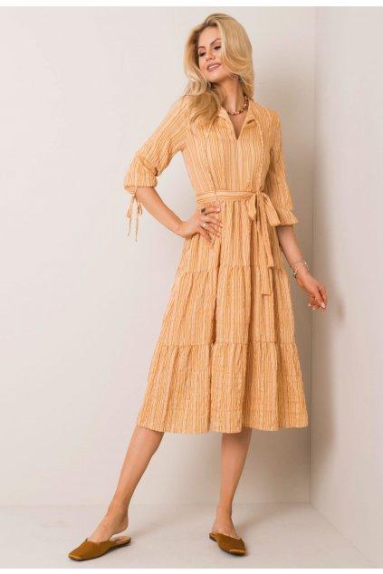Žlté dámske šaty