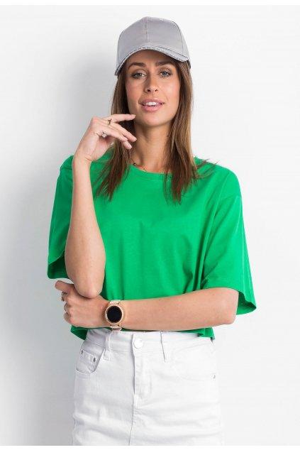 Zelené dámske tričko
