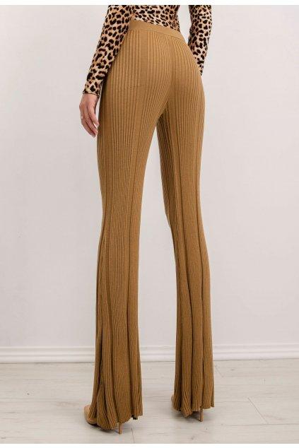Béžové dámske nohavice