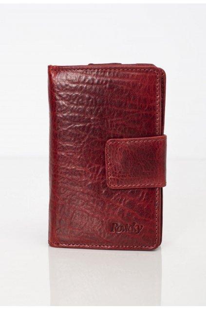 Bordová dámska peňaženka