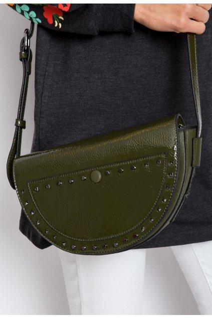 Khaki dámska kabelka