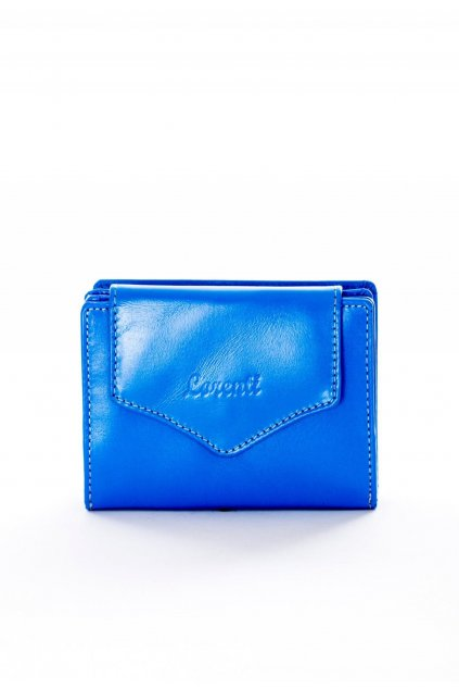 Modrá dámska peňaženka