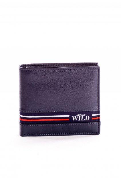 Modrá pánska peňaženka