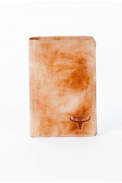 Béžová pánska peňaženka