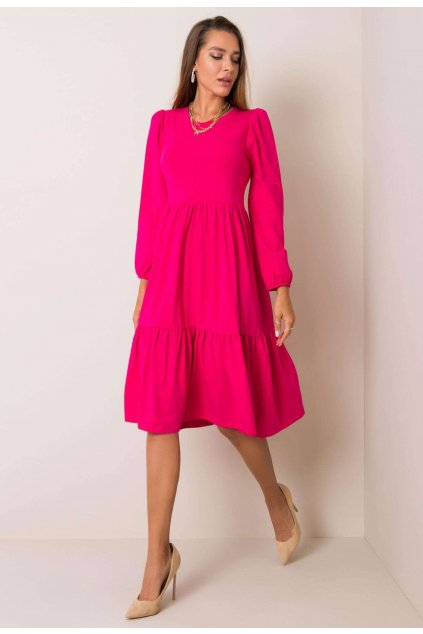 Fuchsiové dámske šaty