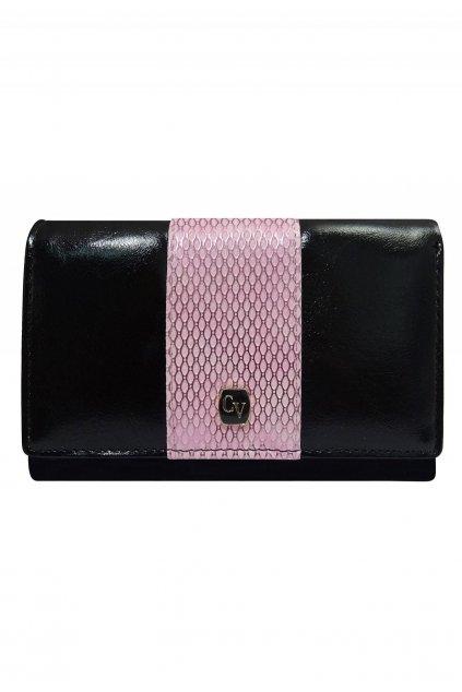 Ružová dámska peňaženka