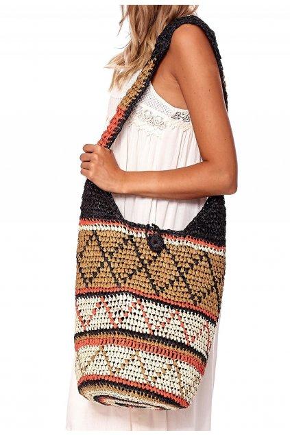 Hnedá dámska plážová taška