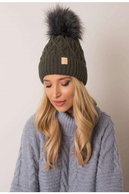 Khaki dámska čiapka