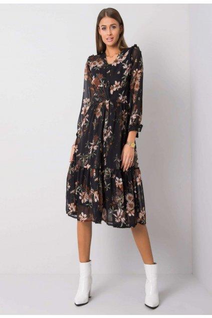 Čierne dámske šaty