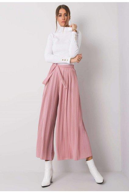Ružové dámske nohavice