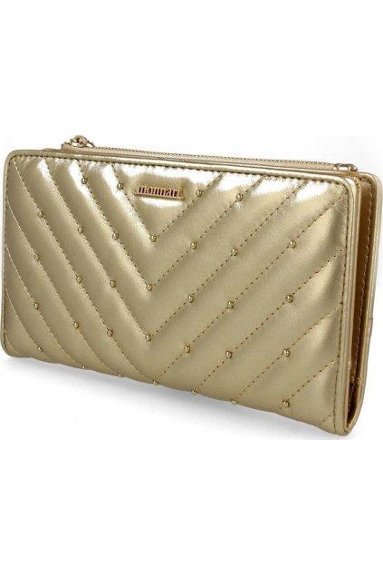 Žltá dámska peňaženka