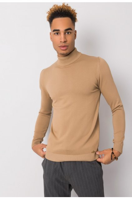 Béžový pánsky sveter