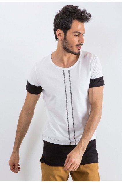 Biele pánske tričko