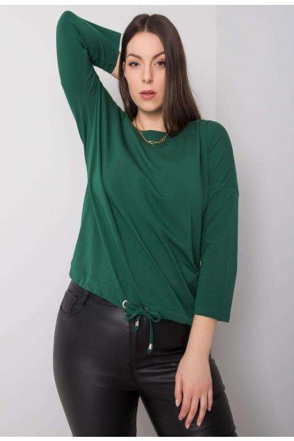 Zelená dámska blúzka