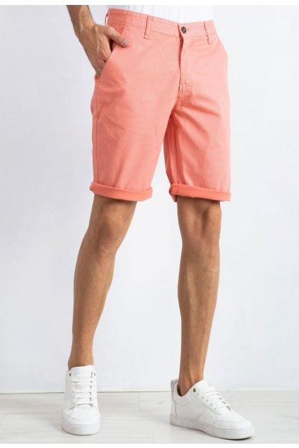 Oranžové pánske kraťasy