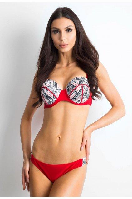 Červené dámske plavky