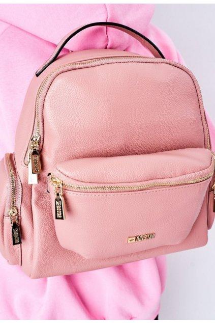 Ružový dámsky batoh