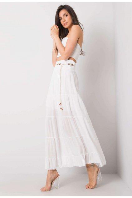 Biela dámska sukňa