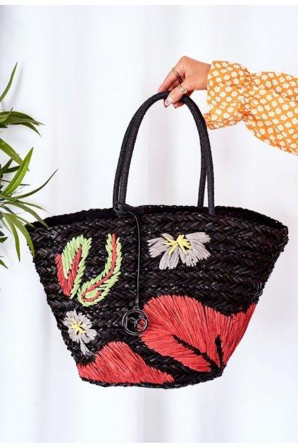 Viacfarebná dámska kabelka