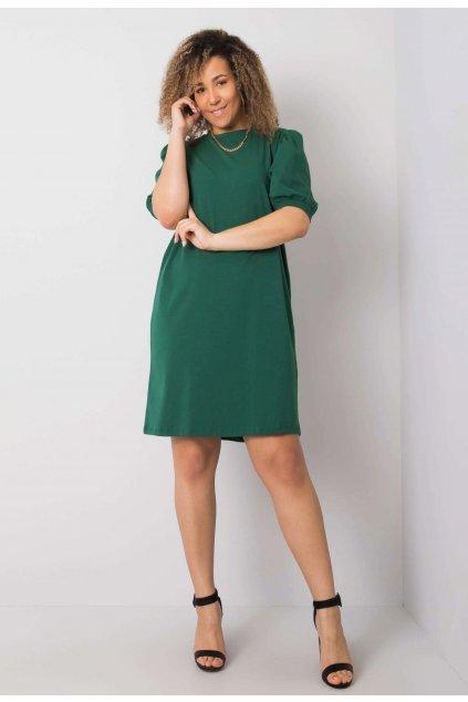 Zelené dámske šaty