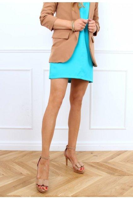 Béžové dámske sandále