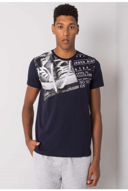 Modré pánske tričko