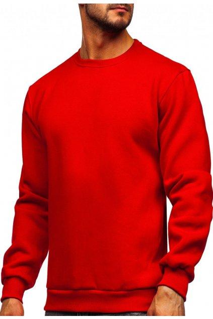 Červená pánska mikina