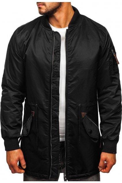 Čierna pánska bunda