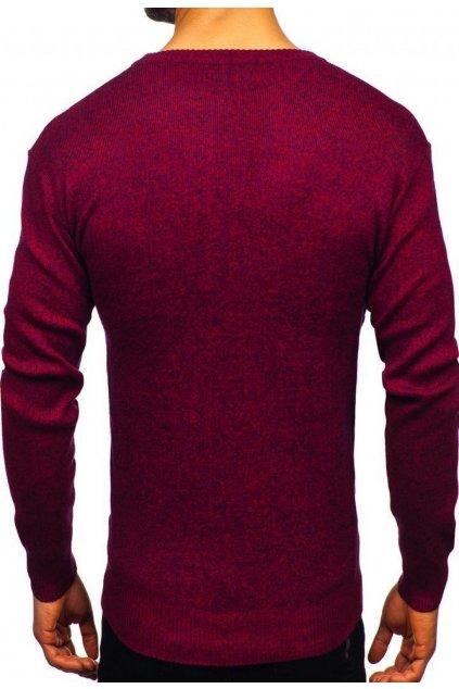 Bordový pánsky sveter