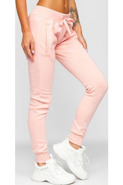 Ružové dámske tepláky