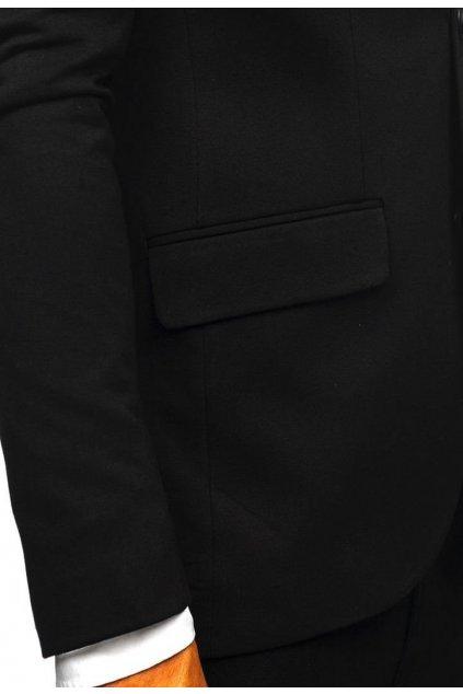 Čierne pánske sako